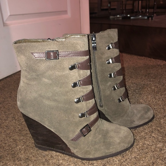 BCBG Shoes - BCBG booties
